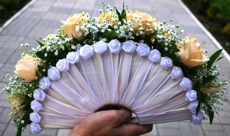 Букет невесты веер своими руками - Septikspb.ru